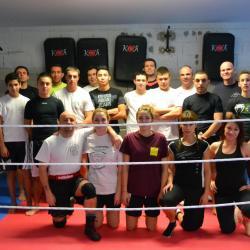 Cours de boxe du 16 janvier 2013