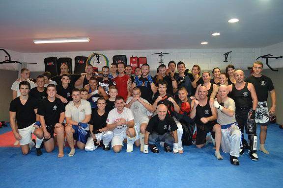 Photo groupe boxe saison 2013 2014